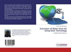 Buchcover von Extraction of Water from Air Using Solar Technology