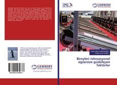 Bookcover of Bireyleri rekreasyonel egzersize güdüleyen faktörler