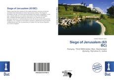Couverture de Siege of Jerusalem (63 BC)