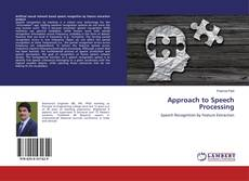 Capa do livro de Approach to Speech Processing