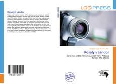 Rosalyn Landor kitap kapağı