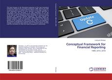 Bookcover of Conceptual Framework for Financial Reporting