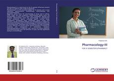 Bookcover of Pharmacology-III