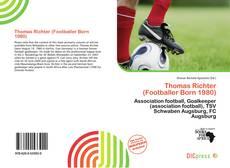 Buchcover von Thomas Richter (Footballer Born 1980)