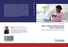 Copertina di Does culture influence the birth experiences