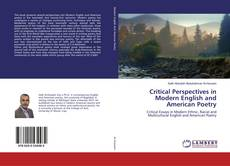 Copertina di Critical Perspectives in Modern English and American Poetry