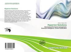 Hyperion Solutions kitap kapağı
