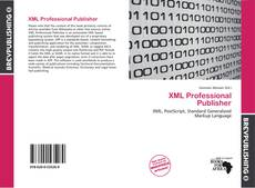 Bookcover of XML Professional Publisher