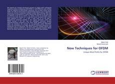 New Techniques for OFDM kitap kapağı