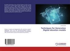 Обложка Techniques for Generation Digital elevation models