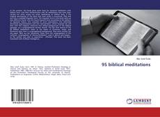 Bookcover of 95 biblical meditations