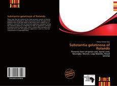 Portada del libro de Substantia gelatinosa of Rolando