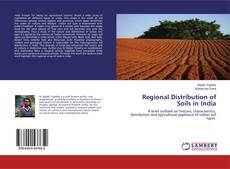Bookcover of Regional Distribution of Soils in India
