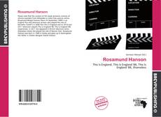 Bookcover of Rosamund Hanson