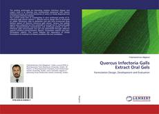 Capa do livro de Quercus Infectoria Galls Extract Oral Gels