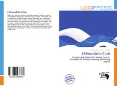 Bookcover of L'Hirondelle Club