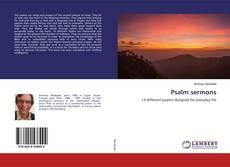 Обложка Psalm sermons