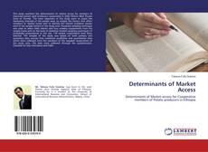 Buchcover von Determinants of Market Access