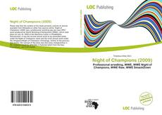 Copertina di Night of Champions (2009)