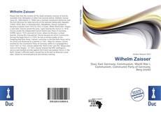 Portada del libro de Wilhelm Zaisser