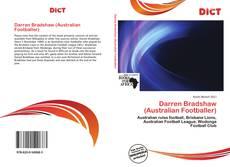 Bookcover of Darren Bradshaw (Australian Footballer)