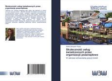 Bookcover of Skuteczność usług świadczonych przez organizacje pozarządowe