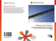 Buchcover von Rüdiger Schnuphase