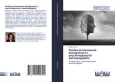 Обложка Analiza porównawcza teologicznych i psychologicznych światopoglądów