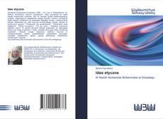 Bookcover of Idee etyczne