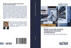 Bookcover of Model oceny dla chudych, elastycznych komórek produkcyjnych