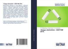 Buchcover von Księga abstraktów - GEETAM 2019