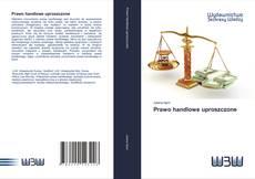 Обложка Prawo handlowe uproszczone