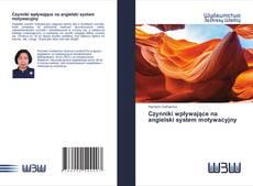 Bookcover of Czynniki wpływające na angielski system motywacyjny