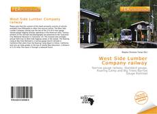 Copertina di West Side Lumber Company railway