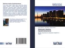 Portada del libro de Zdolność lokalna Upodmiotowienie