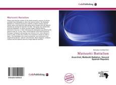 Обложка Matteotti Battalion