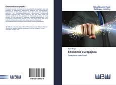 Portada del libro de Ekonomia europejska