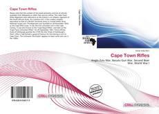 Portada del libro de Cape Town Rifles