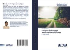 Обложка Energia i technologie wykorzystujące biomasę