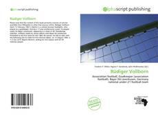 Buchcover von Rüdiger Vollborn