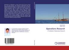 Couverture de Operations Research