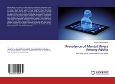 Bookcover of Prevalence of Mental Illness Among Adults