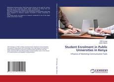 Couverture de Student Enrolment in Public Universities in Kenya