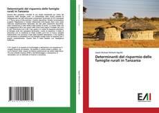 Capa do livro de Determinanti del risparmio delle famiglie rurali in Tanzania