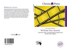 Bookcover of William Fox (Actor)