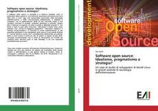Bookcover of Software open source: Idealismo, pragmatismo o strategia?