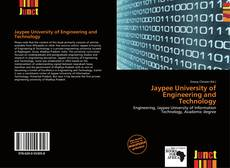 Bookcover of Jaypee University of Engineering and Technology