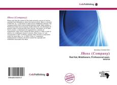 Bookcover of JBoss (Company)