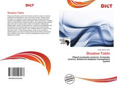 Bookcover of Shadow Table