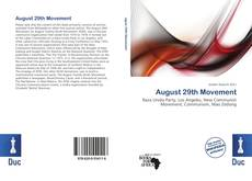 Bookcover of August 29th Movement